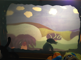 Shadow Puppet Stage