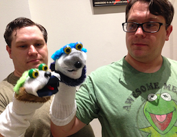 The Ward Brothers with Sock Puppets